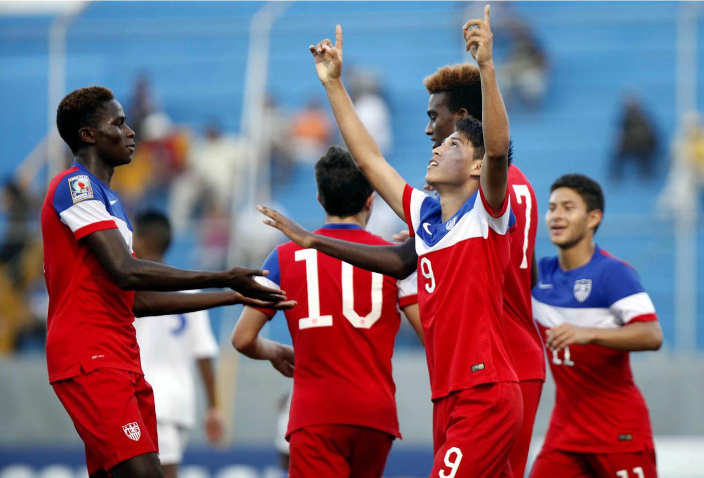 Estados Unidos 5-0 Cuba (Premundial Sub-17) 0509