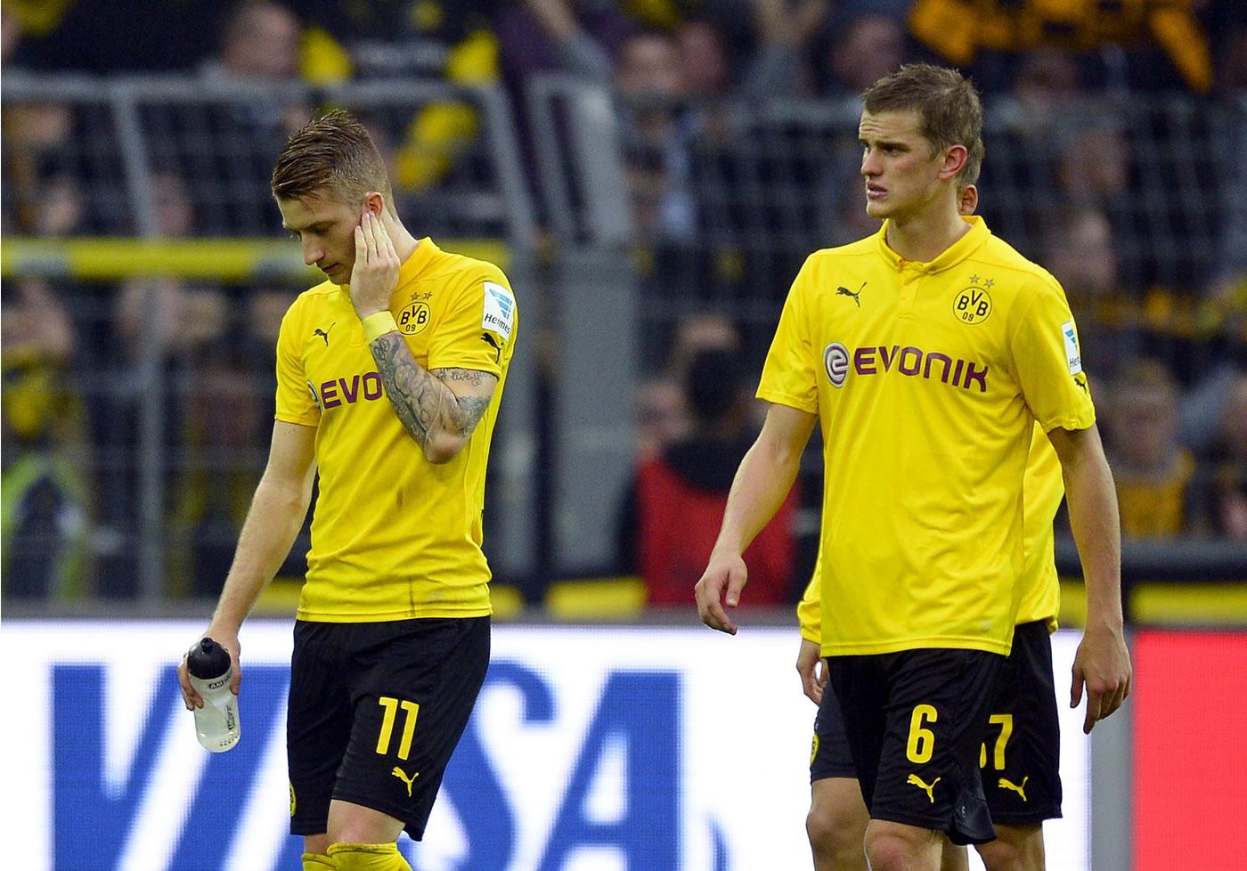 El Dortmund en caída libre