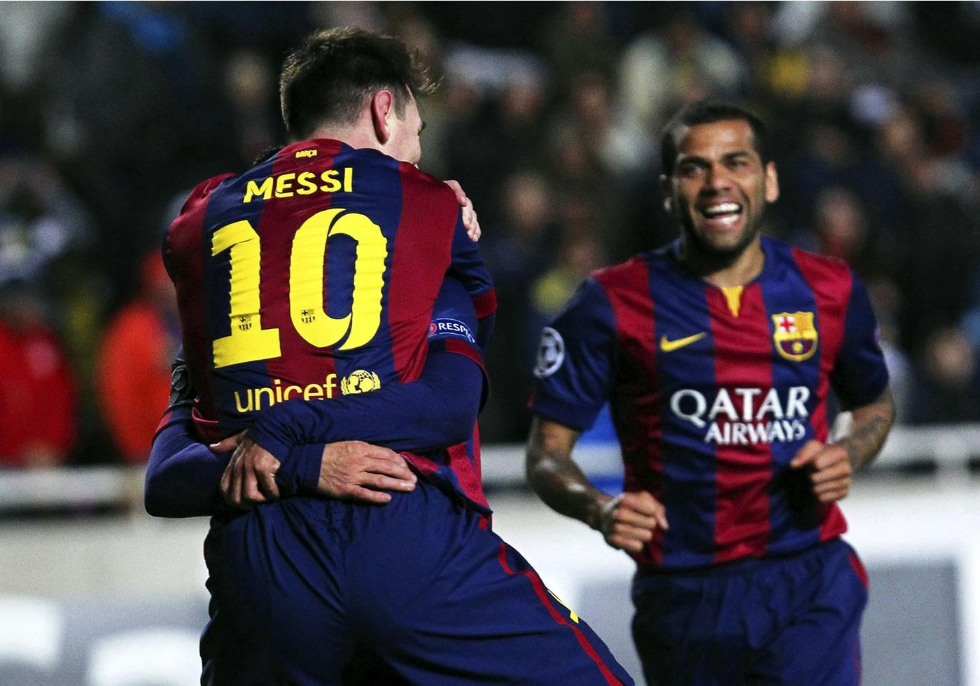 Apoel Nicosia 0-4 Barcelona (Champions League)