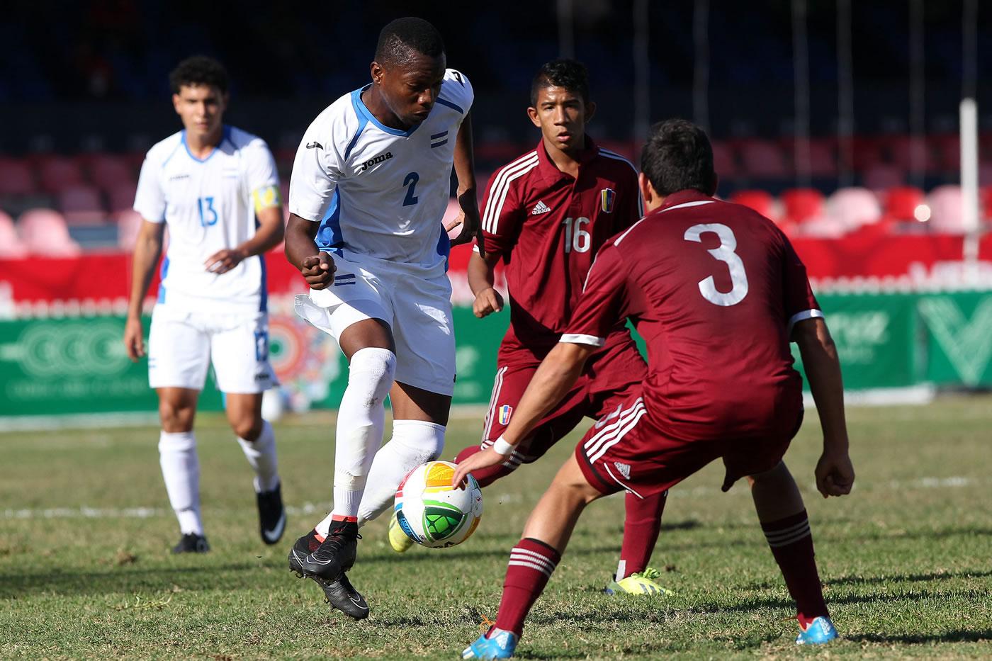 Venezuela 1-0 Honduras (Juegos de Veracruz 2014)