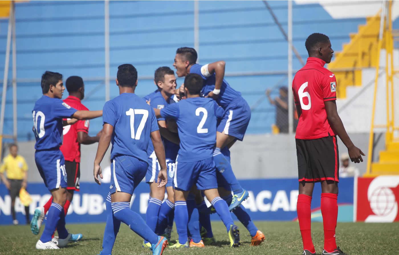 Guatemala 4-1 Trinidad y Tobago (Premundial Sub-17) 0509