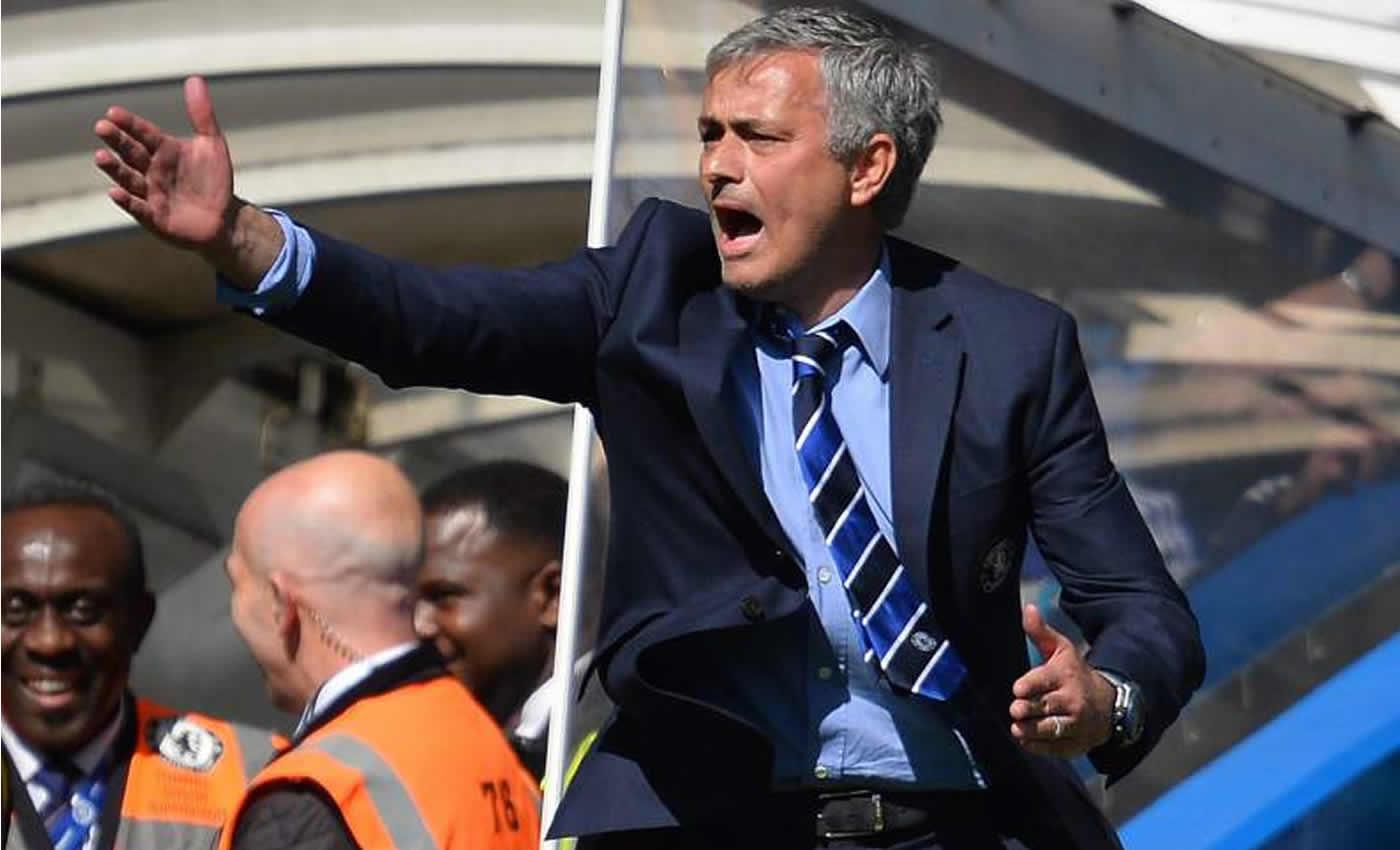 Mourinho celebró con su familia el título de Premier