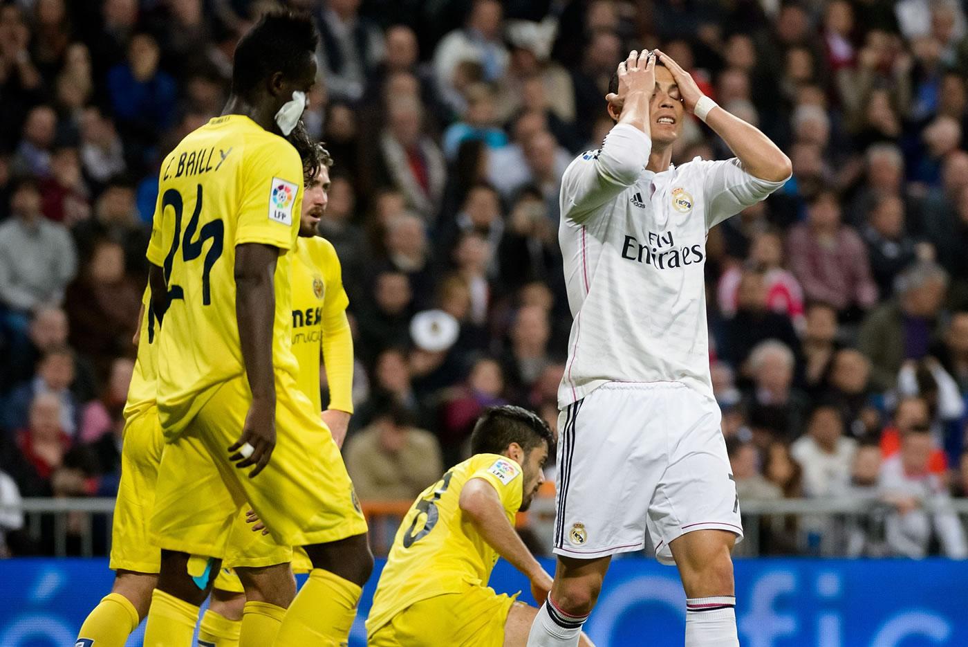 Real Madrid 1-1 Villarreal (Liga española)