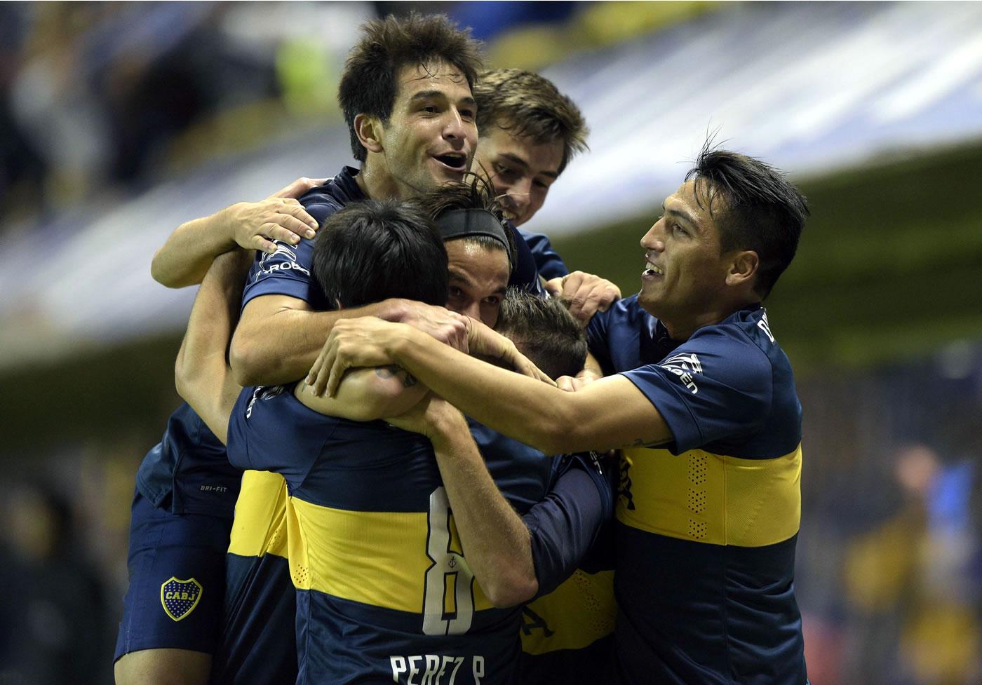 Boca Juniors 2-0 River Plate (Fútbol argentino) 0509
