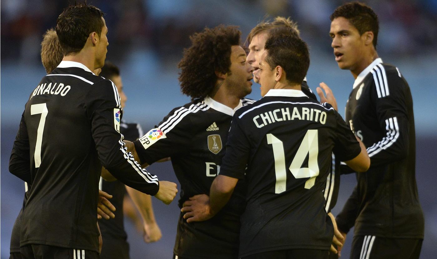 Celta 2 - 4 Real Madrid (España) 0509