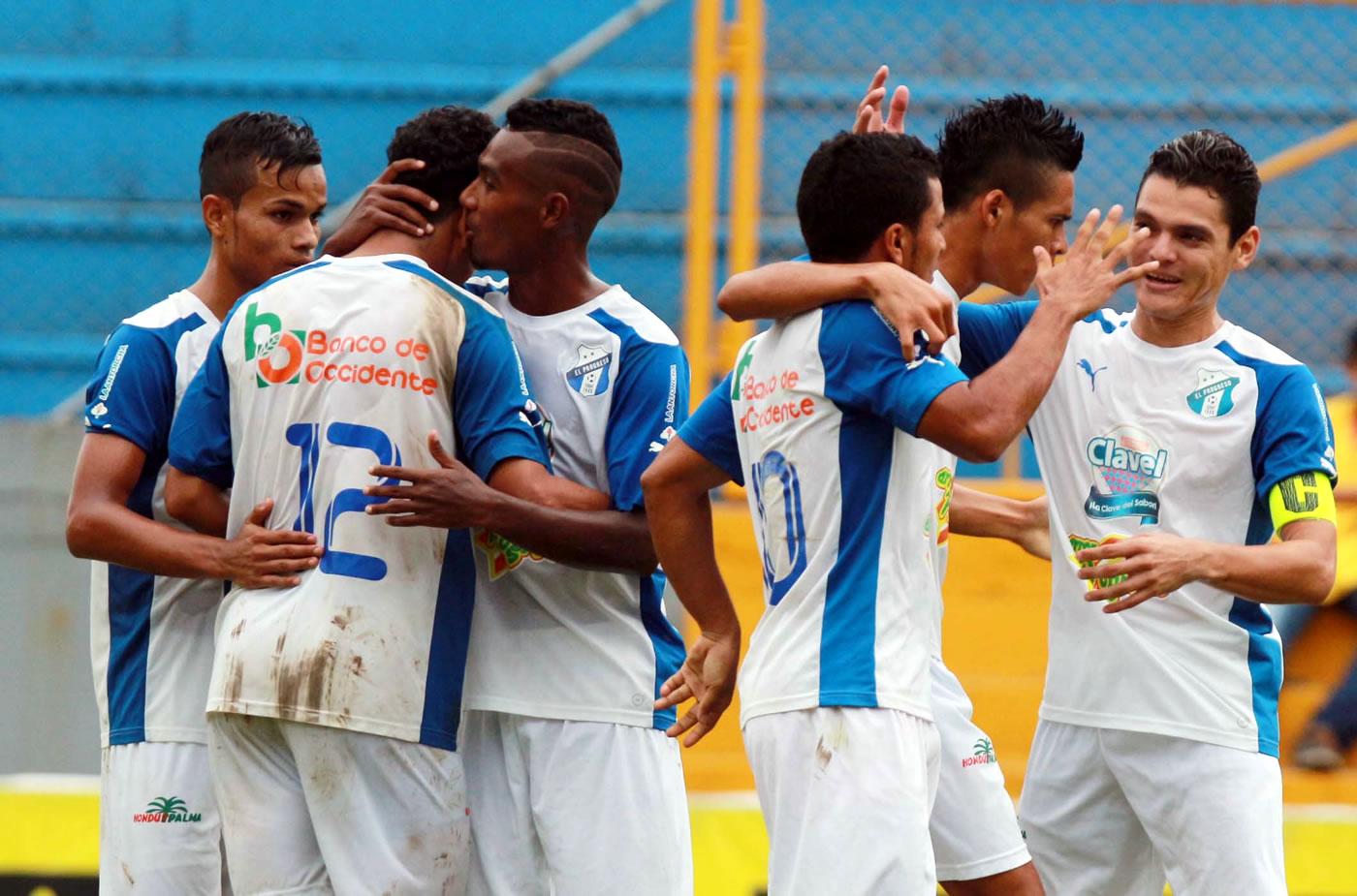 Real España 2-4 Honduras Progreso 0509