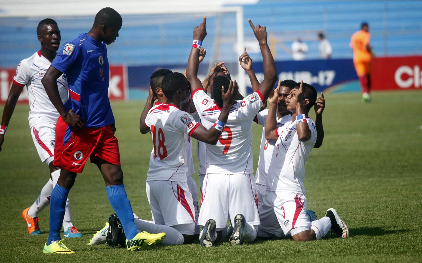 Haití 0-7 Panamá (Premundial Sub-17)