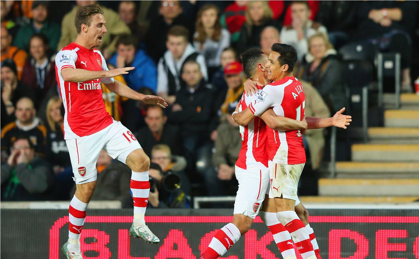 Hull City 1-3 Arsenal (Inglaterra) 0509