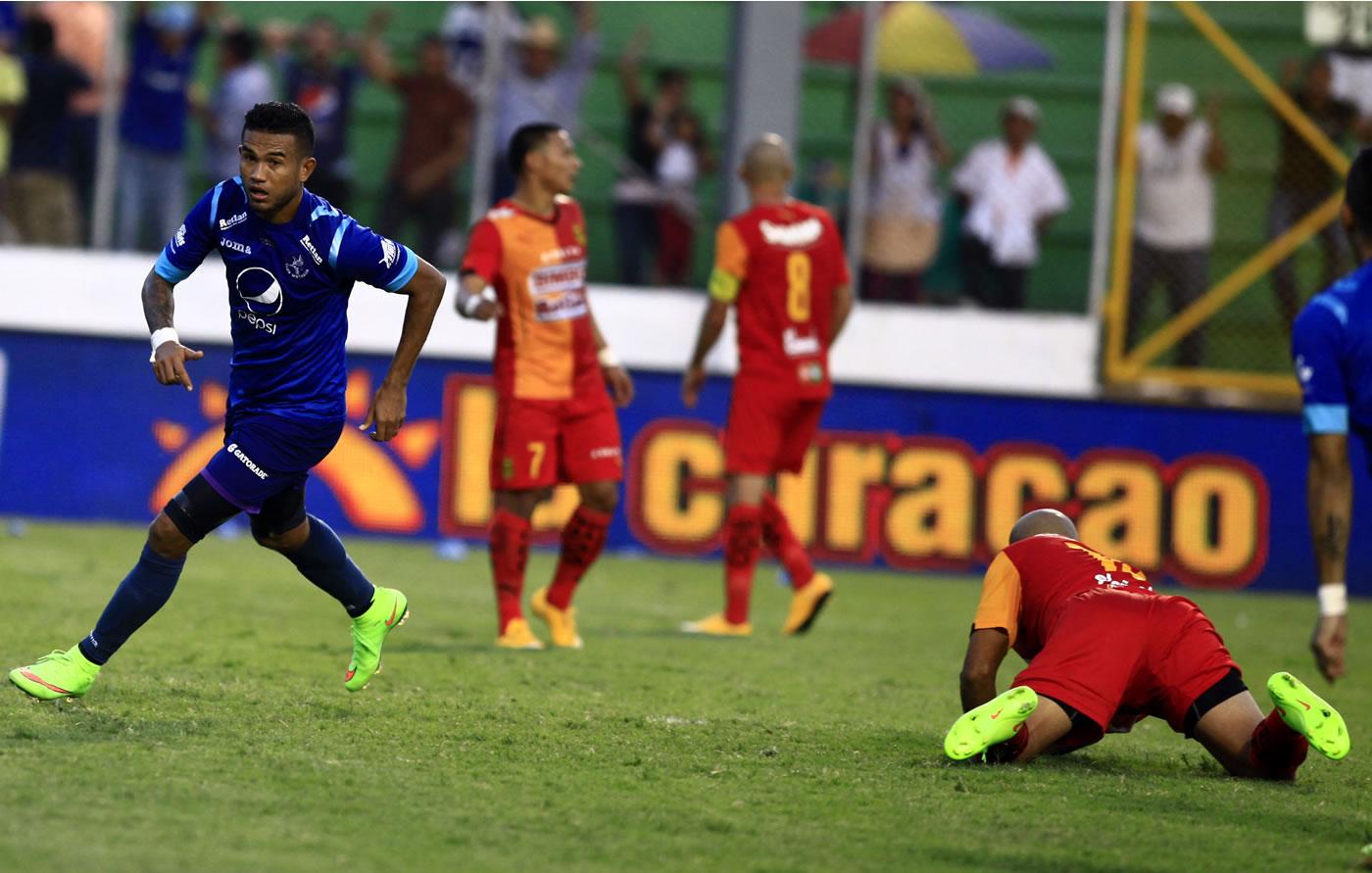 Motagua 2-2 Real España