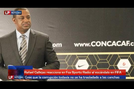 Rafael Callejas reacciona a escándalo en FIFA 0509