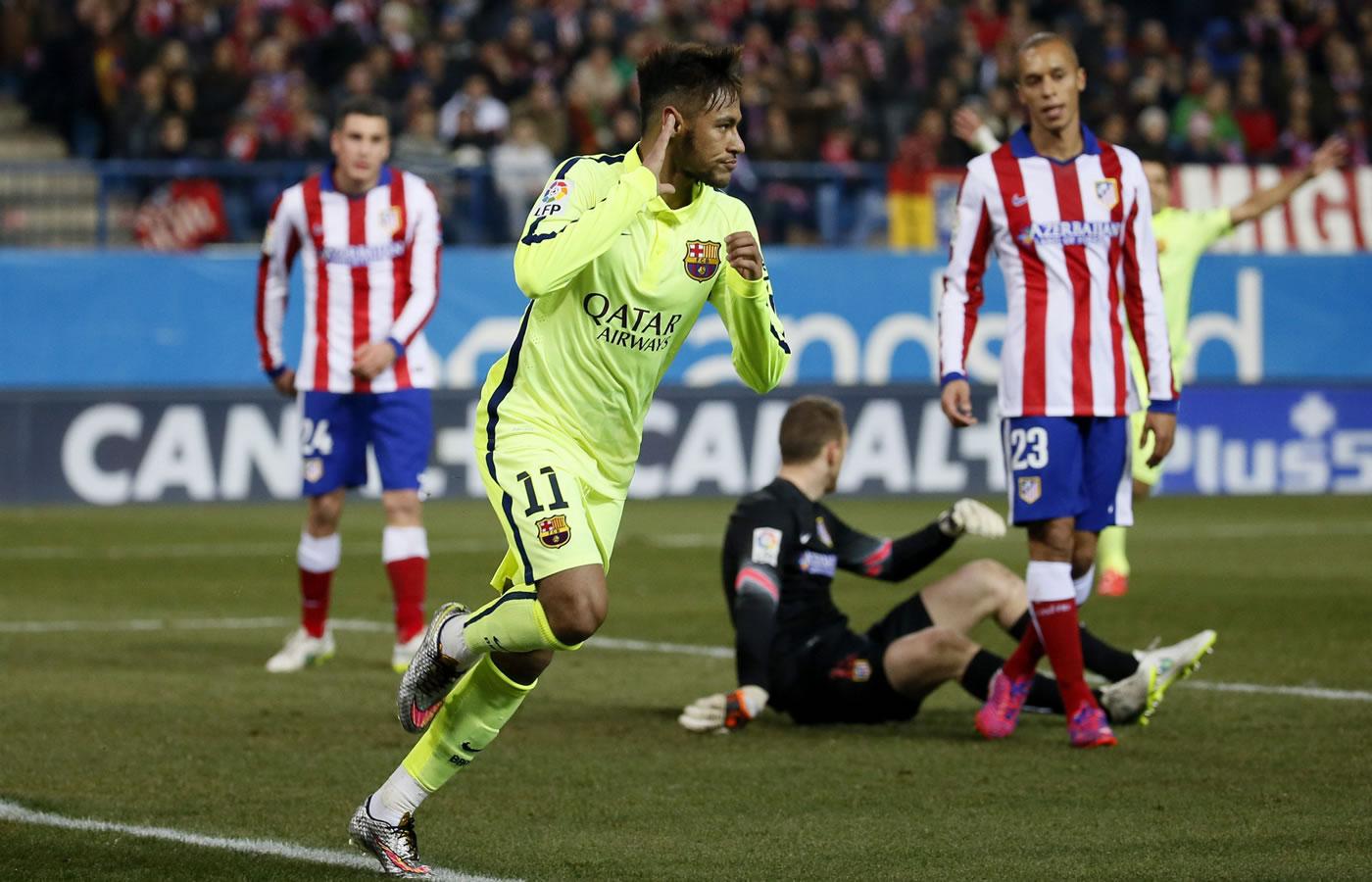 Atlético de Madrid 2-3 Barcelona (Copa del Rey)