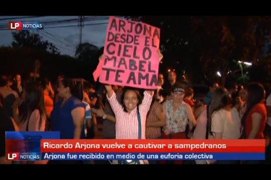 Arjona cautivó a sampedranos con su Viaje Tour 0509