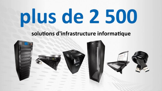 Tripp Lite IT Infrastructure Solutions Introduction (French)