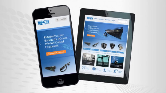 How to Add Tripp Lite's New Website to Your iPhone or iPad (Spanish)