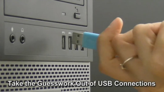 Reversible USB Cables