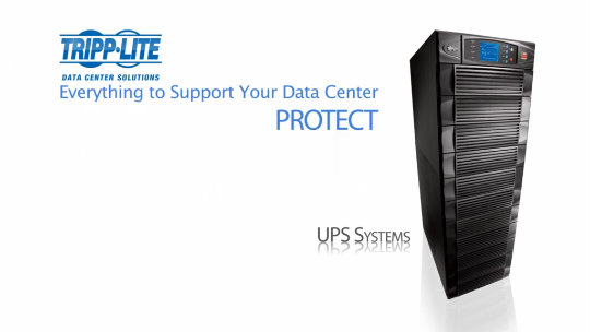 Tripp Lite Data Center Solutions Introduction