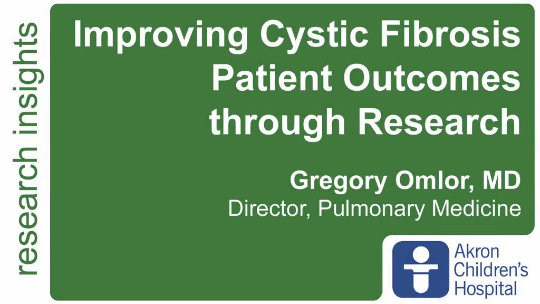 Improving Cystic Fibrosis Patient Outcomes through Research
