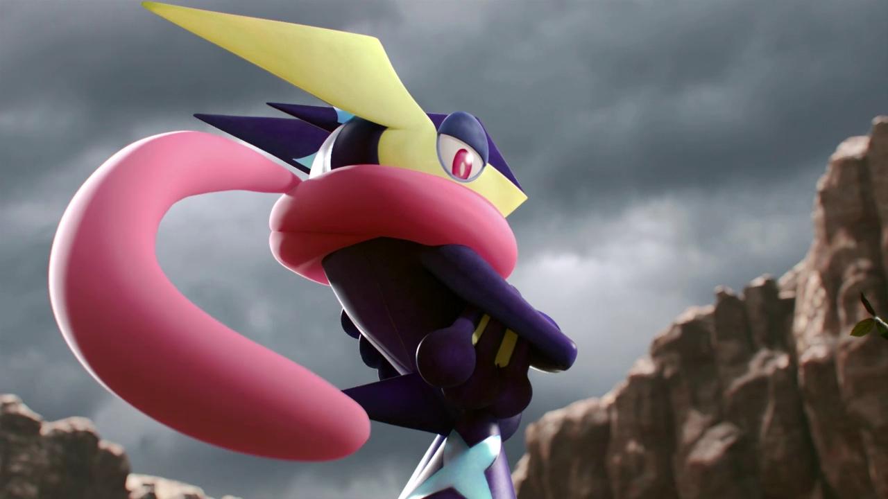 Greninja joins the battle in Super Smash Bros  for Wii U and NintendoGreninja Super Smash Bros