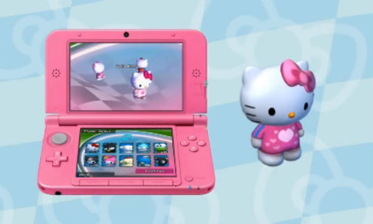 3DS-Hello-Kitty-And-Sanrio-Friends-3D-Racing-Trailer-enGB
